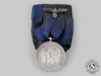 Germany, Wehrmacht. A Four Year Long Service Medal, IV Class