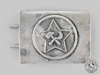 Germany, Weimar Republic. A Communist Party of Germany Personnel Belt Buckle