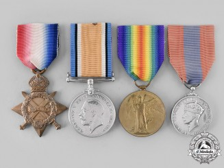 Canada, Dominion. An Imperial Service Medal First War Trio, Australian Born, Royal Canadian Horse Artillery