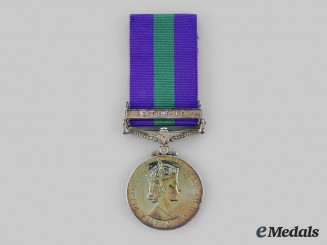United Kingdom. A General Service Medal 1918-1962, to Gunner J.A. Griffin, Royal Artillery