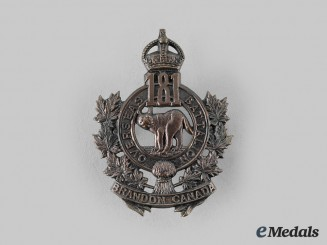 "Canada, CEF. A 181st Infantry Battalion ""Brandon Battalion"" Cap Badge"