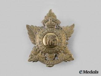 "Canada, CEF. A 185th Infantry Battalion ""Cape Breton Highlanders"" Glengarry Badge, c.1916"