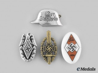 Germany, Third Reich. A Lot of Lapel Membership Badges