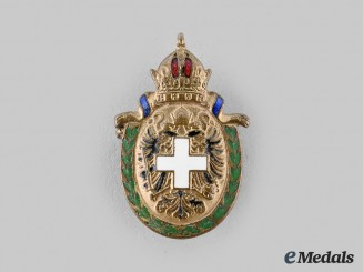 Hungary, Kingdom. A Patriotic Badge