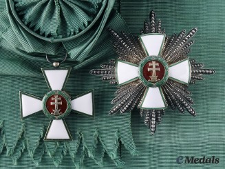 Hungary, Kingdom. An Order of Merit, Grand Cross in Case, c. 1935