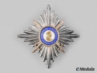 Saxony, Kingdom. An Albrecht Order Commander Star, by G.A. Scharffenberg, c.1914