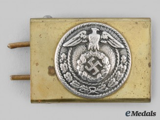 Germany, HJ. An Early SA-Style Enlisted Belt Buckle