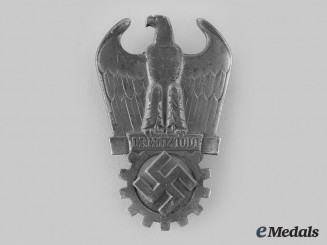 Germany, Third Reich. A Dr. Fritz Todt Prize, Silver Grade