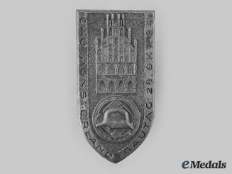 Germany, Der Stahlhelm. A 1934 National Socialist League of Frontline Fighters-Der Stahlhelm Münster Meeting Badge