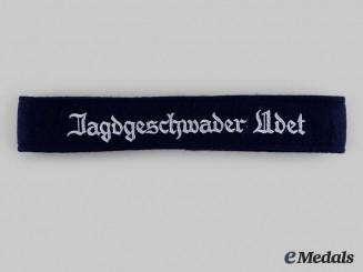 """Germany, Luftwaffe. A Jagdgeschwader 3 """"Udet"""" EM/NCO's Cuff Title"""