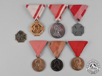 Austria, Imperial. A Lot of Imperial Austrian Medals & Decorations