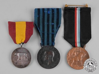 Italy, Kingdom. A Lot of Fascist Period Medals & Awards