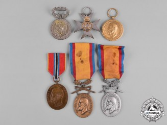 Romania, Kingdom. A Lot of Medals, Decorations. & Awards