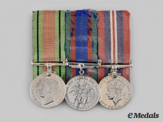 Canada, Commonwealth. A Home Front Veterans Medal Group