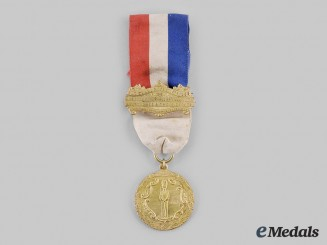 United States. A New York Old Guard Medal, to the Ancient and Honorable Artillery Company of Boston and the Honorable Artillery Company of London 1903