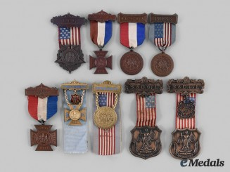 United States. Nine Female-Oriented Veterans Organization Medals