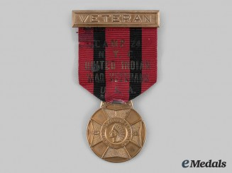 United States. A United Indian Wars Veterans Camp 24 New York City Convention Medal
