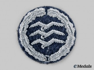 """Germany, DLV. A Class """"C"""" Glider Proficiency Badge"""