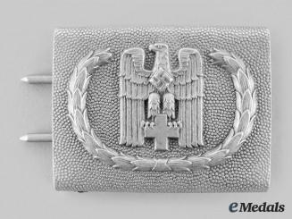 Germany, DRK. A Red Cross (DRK) EM/NCO's Belt Buckle