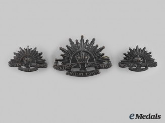Australia, Commonwealth. A Military Forces Insignia Set