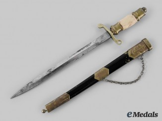 Poland. A Naval Officer Model 1952 Miniature Dagger