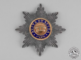 Austria, Imperial. An Order of the Iron Crown, I Class Star, by C.F. Rothe, c.1900