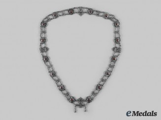 Schaumburg-Lippe, Principality. A Silver Chain of the Leopold Order, Private Issue
