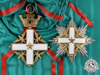 Italy, Republic. An Order of Merit of the Italian Republic, Grand Cross, by Cravanzola, c.1960