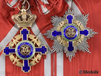 Romania, Kingdom. An Order of the Star, Civil Division, Grand Cross, by J. Resch, c. 1940