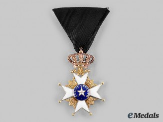 Sweden, Kingdom. An Order of the North Star, Knight, in Gold, c.1900