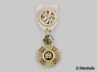 Cambodia, French Protectorate. A Royal Order of Sowathara, Officer, c. 1950