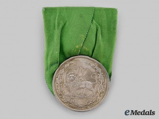 Iran, Pahlavi Empire. A Medal for Bravery (Military Valour), Type III, II Class, c. 1902
