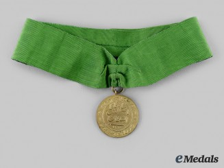 Iran, Pahlavi Empire. A Medal for Bravery (Military Valour), Type III, I Class, c. 1892