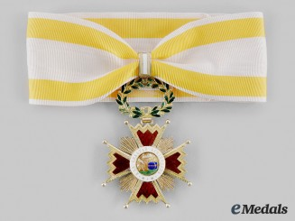 Spain, Kingdom. An Order of Isabel the Catholic in Gold, Commander c.1880