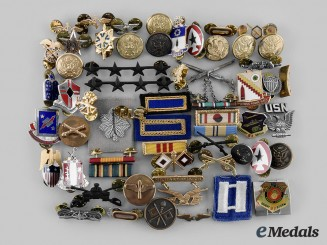 United States. A Lot of Sixty Armed Forces Items