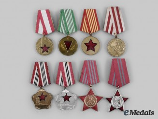 Albania, People's Republic. A Lot of Eight Awards