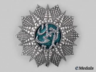 Tunisia, French Protectorate. An Order of Glory (Nichan Iftikhar), I Class Breast Star, by Bertrand, c. 1942