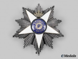 Egypt, Kingdom. An Order of the Nile, Grand Cordon Star, by Lattes, c. 1927