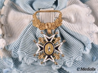 Spain, Kingdom. An Order of Charles III, Ladies Grand Cross with Original Sash c.1900
