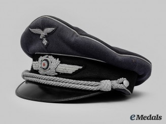 Germany, Luftwaffe. An Officer's Visor Cap, by H. Oldevend