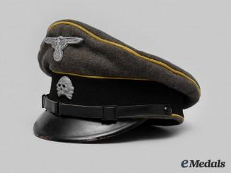 Germany, SS. A Waffen-SS Cavalry/Reconnaissance EM/NCO's Visor Cap, c.1940