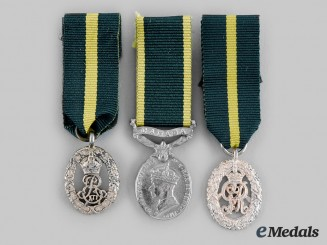 United Kingdom. Three Miniature Awards