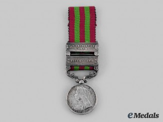 United Kingdom. A Miniature India Medal 1895-1902