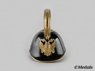 Austria, Imperial. An M1905 Dragoon Officer's Helmet Miniature