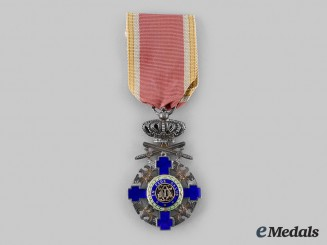 Romania, Kingdom. An Order of the Star, Knight's Cross with Swords, c.1940