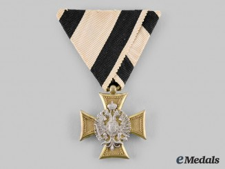 Austria, Imperial. A Military Long Service Decoration, III Class Officer for 25 Years