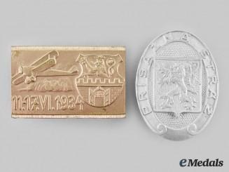 Czechoslovakia. A Pair of Badges
