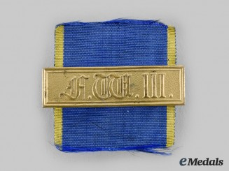Prussia, Kingdom. A Military Long Service Decoration I Class Bar for 21 Years