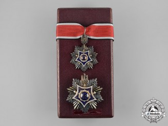 United Arab Republic. An Order of Merit, V Class Set, by Bichay, c.1960, to Captain Alojz Brecelj