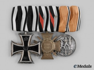 Germany, Third Reich. A Medal Bar